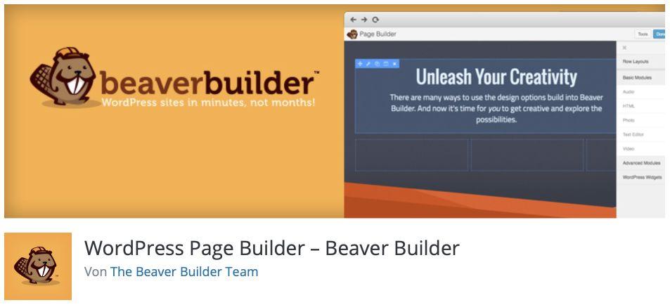 Kostenlose Page Builder Beaver