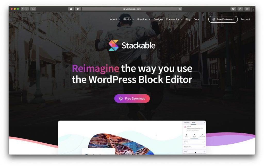 Stackable Blocks Plugin