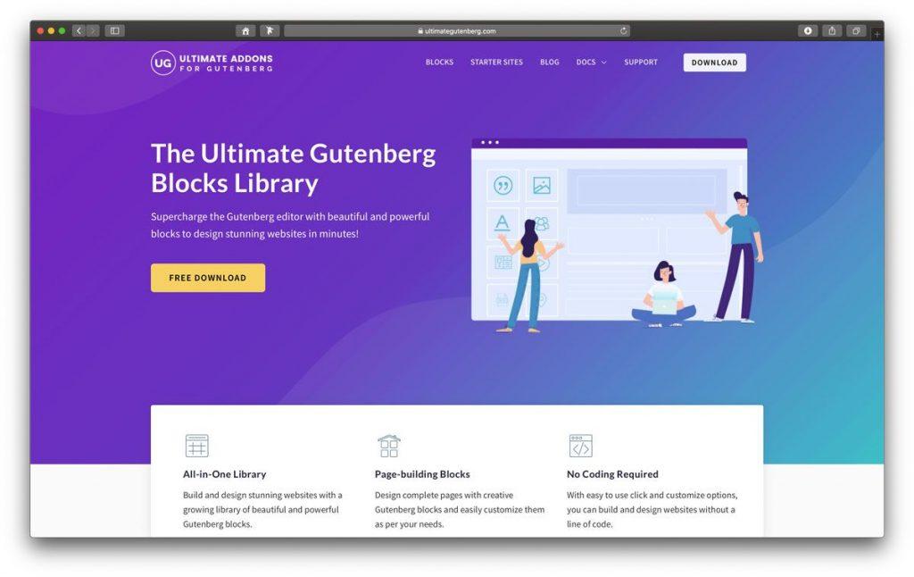 Ultimate Addons WordPress Gutenberg Plugin