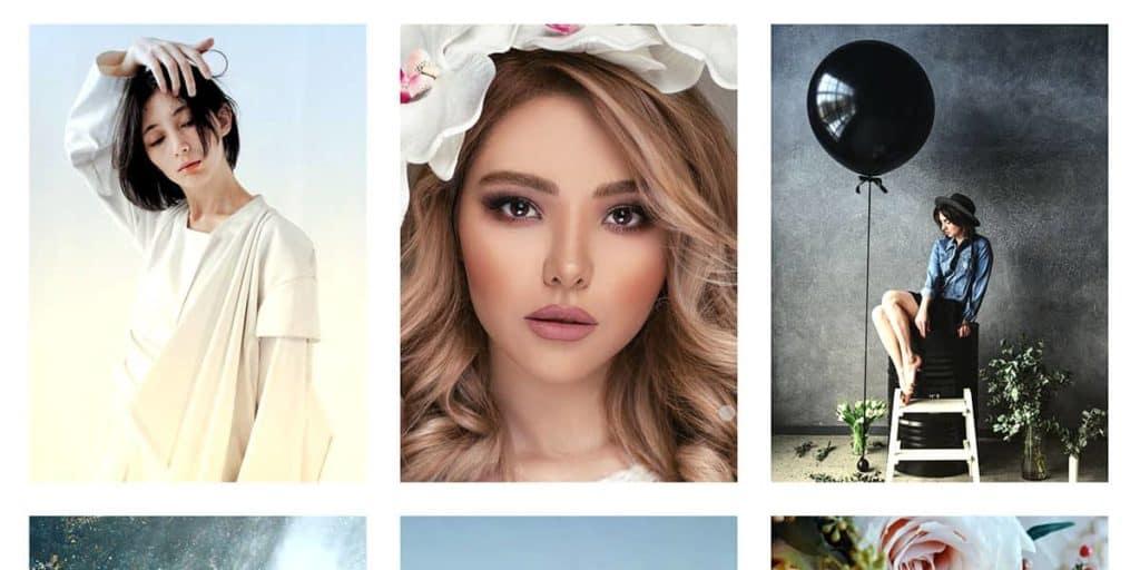 Mit der Portfolio Funktion des WordPress Themes werden Bilder optimal angezeigt