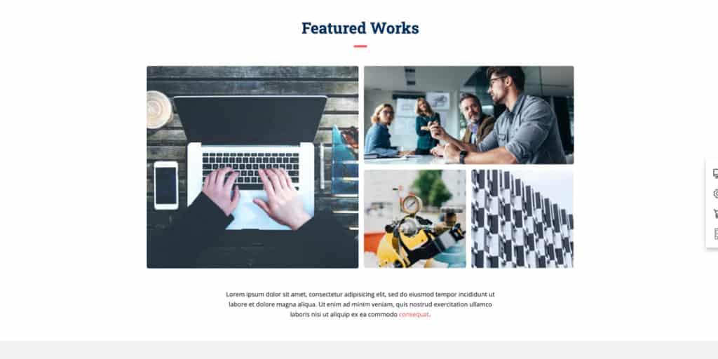 Stelle deine Arbeit in Blogbeiträgen und auf der Homepage vor