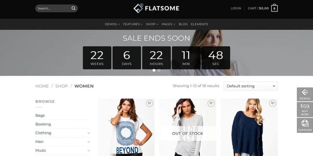 Produktansicht im Online Shop
