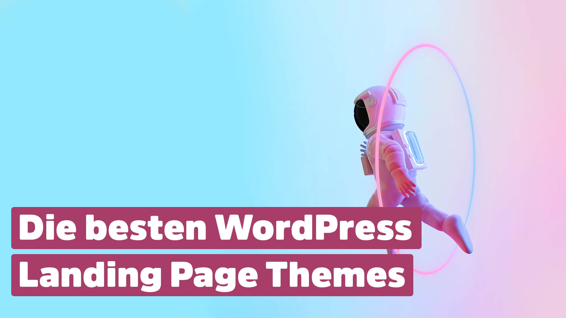 Wordpress Landing Page Themes