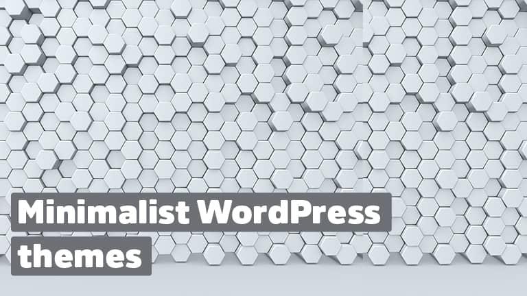 Minimalist WordPress Templates