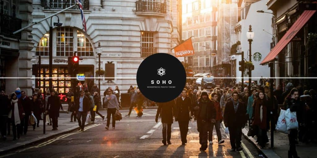 Soho is a nice and customizable theme for photo studios and photographers