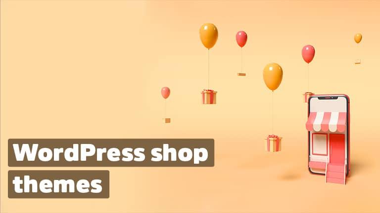 WordPress shop themes