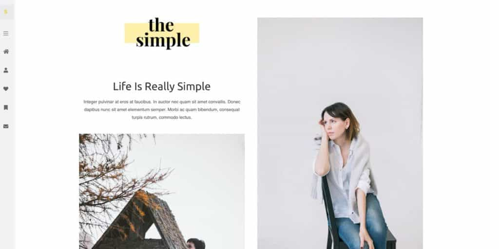 One of hundreds of blog designs and templates