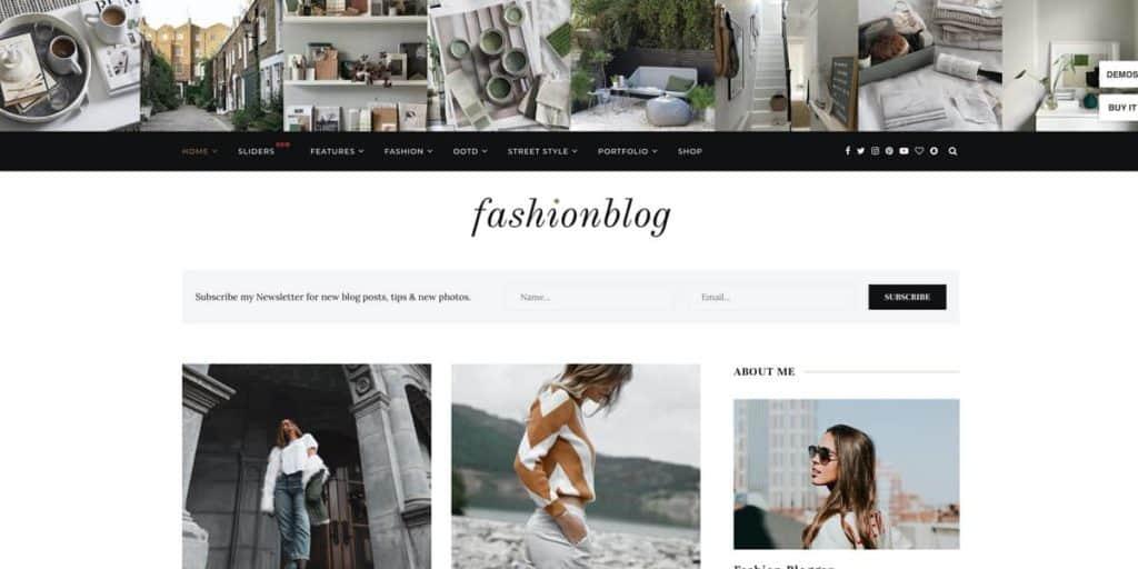 Soledad blogging template
