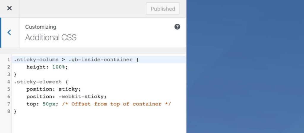 Change WordPress font via the Customizer
