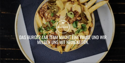 The Burger Lab Website from Germany. Example of websites using Enfold Theme.
