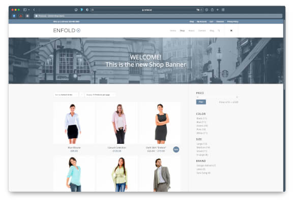Shop Demo with WooCommerce